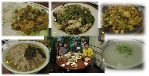 ~ A Yummilicious Dinner @ House of Bowls with Linda & George, David & Garren, and me.