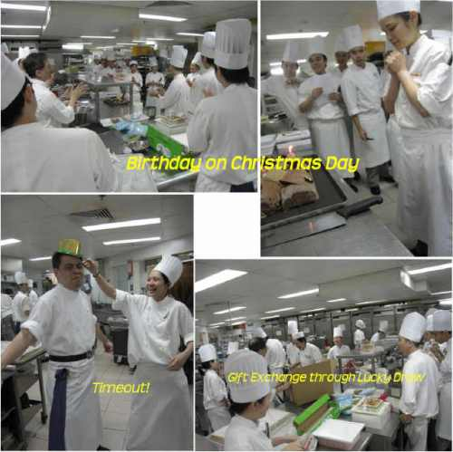 christmas-fun-time in the kitchen