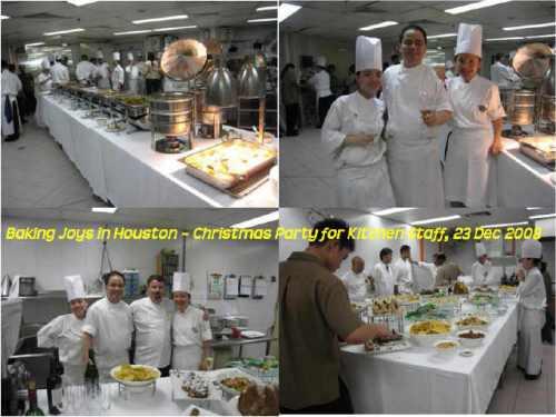 christmas-celebration for kitchen team